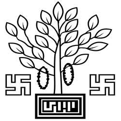 bihar state emblem, bodhi tree