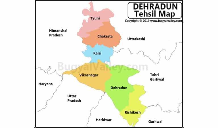 Dehradun Map