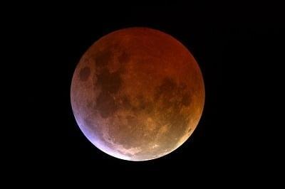 lunar eclipse shadow