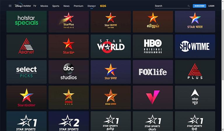 hotstar channel